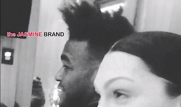 Jessie J Gushes Over Luke James + Couple Accept Samuel L. Jackson's Challenge [VIDEO]