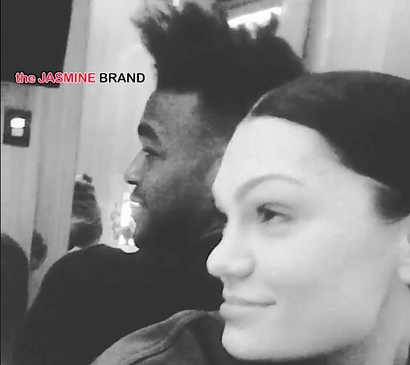 Jessie J Gushes Over Luke James + Couple Accept Samuel L. Jackson's Challenge [VIDEO]