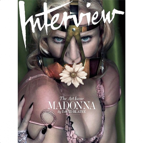 Madonna Interview Magazine-1-the jasmine brand