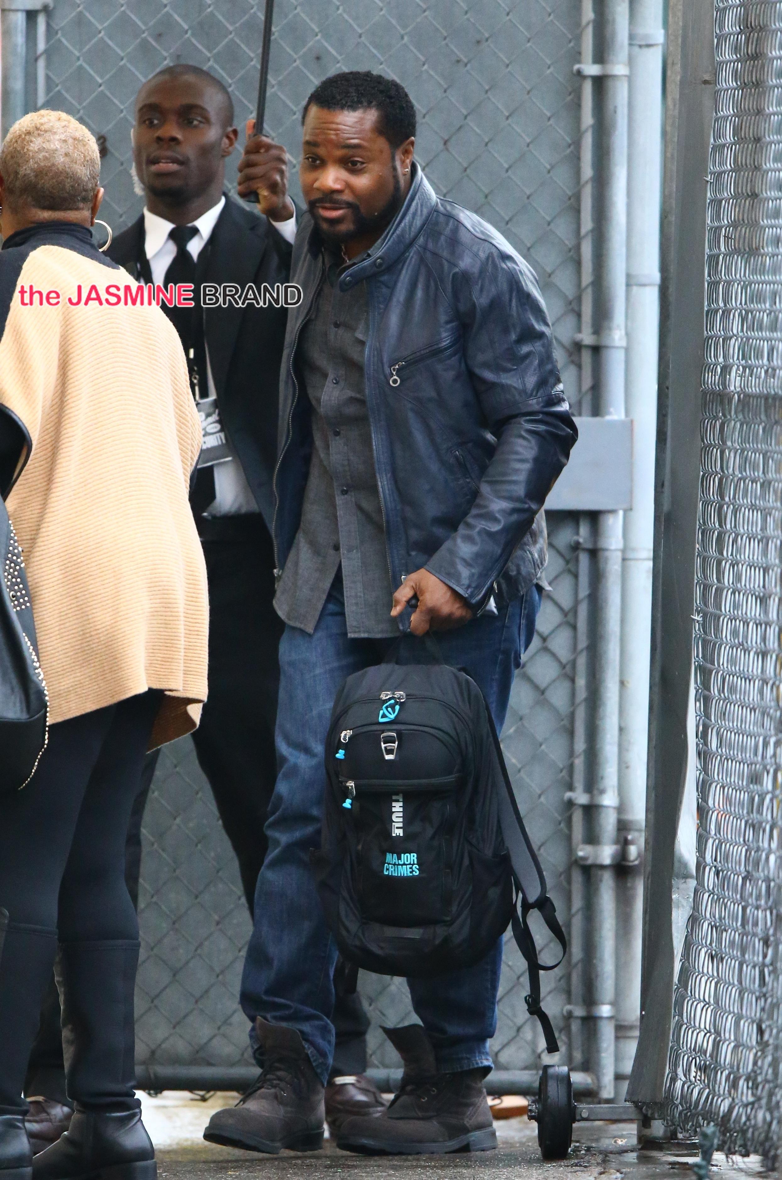 Malcolm-Jamal Warner seen at 'Jimmy Kimmel Live!'