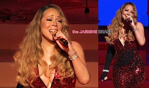 Mariah Carey Gets Emotional, Has Teary-Eyed Meltdown During Christmas Show