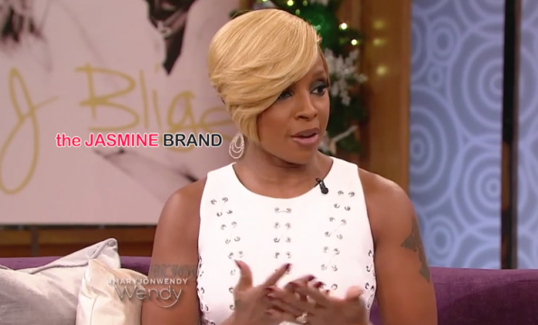 Mary J Blige-Wendy Williams Show-Talks No Female Friends For Husband-the jasmine brand