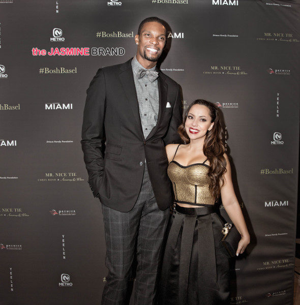 Celebs Invade Art Basel: Adrienne & Chris Bosh, Solange Knowles, Diddy, Swizz Beatz [Photos]