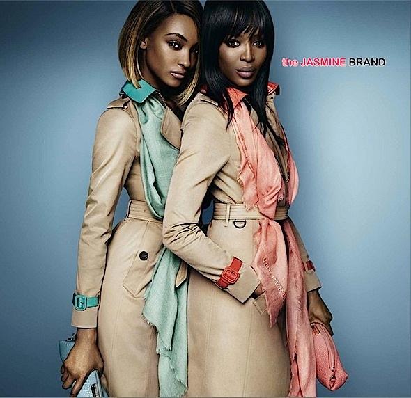 Naomi Campbell-Jourdan Dunn-Burberry Campaign-the jasmine brand