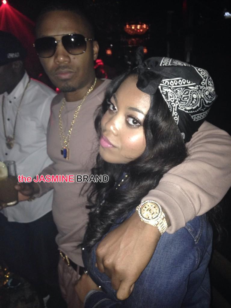 Nas Daughter Destiny-Baby Mama Carmen-Almost Did Love And Hip Hop-the jasmine brand