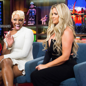 NeNe Leakes-Kim Zolciak reunite-Watch What Happens Live-the jasmine brand