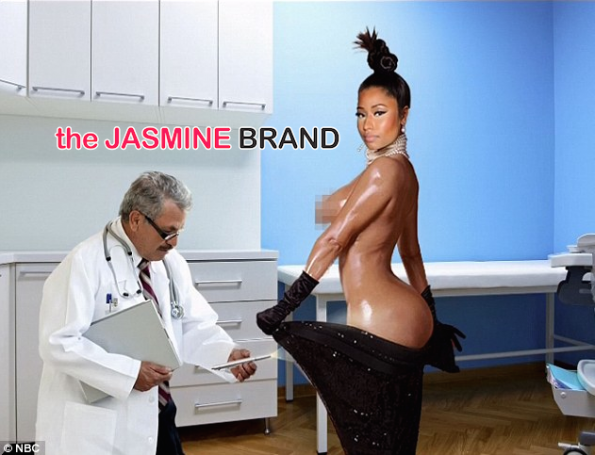 Nicki Minaj-As Kim Kardashian-SNL-the jasmine brand