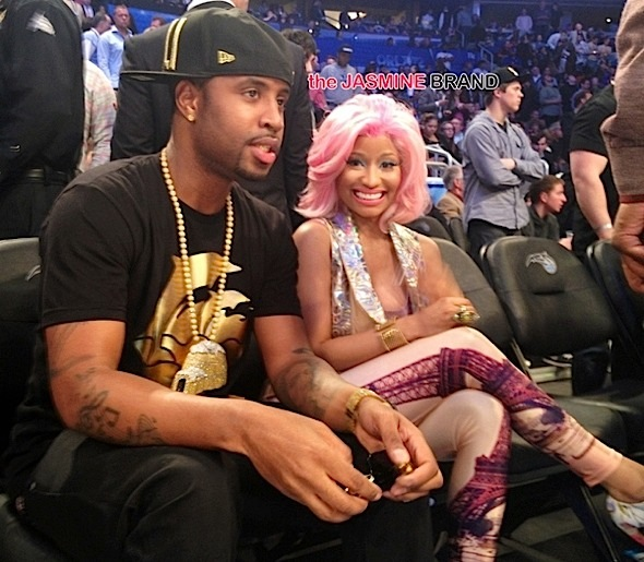 Nicki Minaj-Talks Ex Boyfriend Safaree Samuels-the jasmine brand