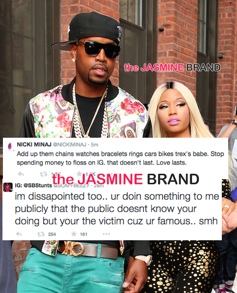Awkward Much? Nicki Minaj & Ex-Boyfriend's Twitter Fight Gets Downright Messy + Read the Banter