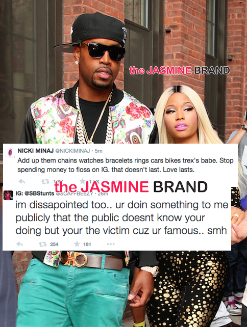 Nicki-Minaj-and-boyfriend-Safaree-break-up-twitter fight-the-jasmine-brand