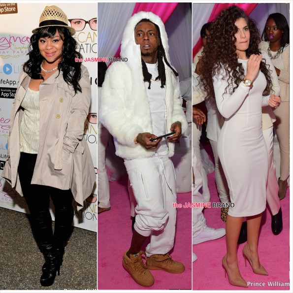 Nivea-Lil Wayne-Dhea-Reginae Sweet 16 Birthday Party-the jasmine brand