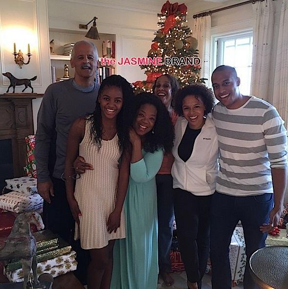 Oprah, Stedman, Gayle King & Co.