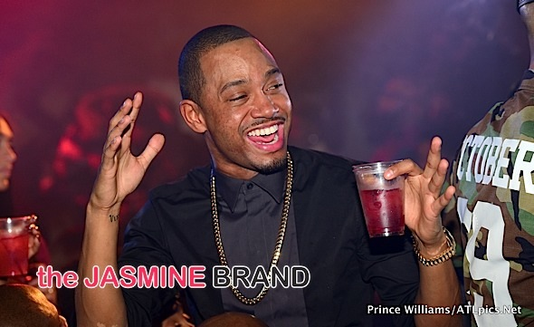 Spotted. Stalked. Scene. E!'s Terrence J & Rapper Jim Jones Party in ATL [Photos]