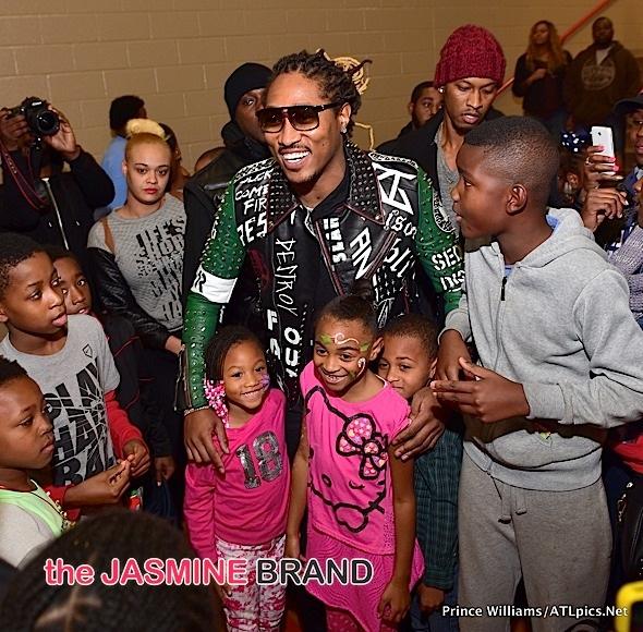 Rapper Jeezy also showed up Future Rapper Daughter