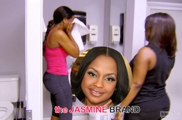 Phaedra Parks Calls Kenya Moores On Camera Break-Down-An Effort to Game Sympathy-the jasmine brand