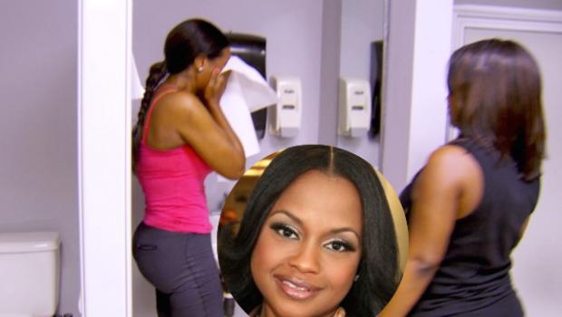 Phaedra Parks On Kenya Moore's On Camera Break-Down: She's playing victim!