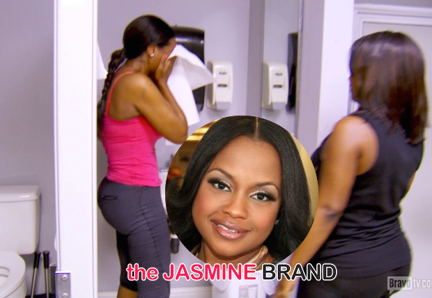 Phaedra Parks On Kenya Moore's On Camera Break-Down: She's playing victim!