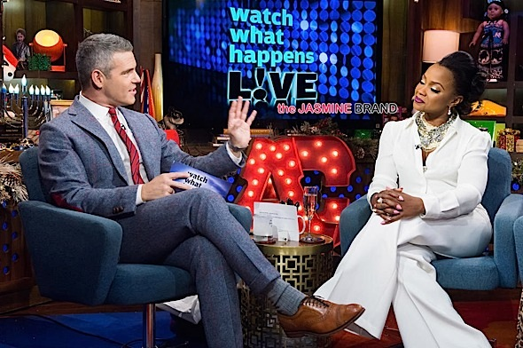 Phaedra Parks-Watch What Happens Live-husband jail-the jasmine brand