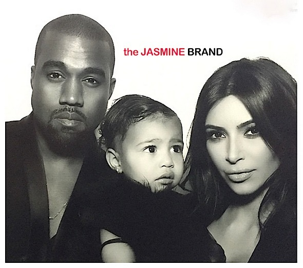 Photo Booth Fresh-Kanye West-North-Kim Kardashian-the jasmine brand