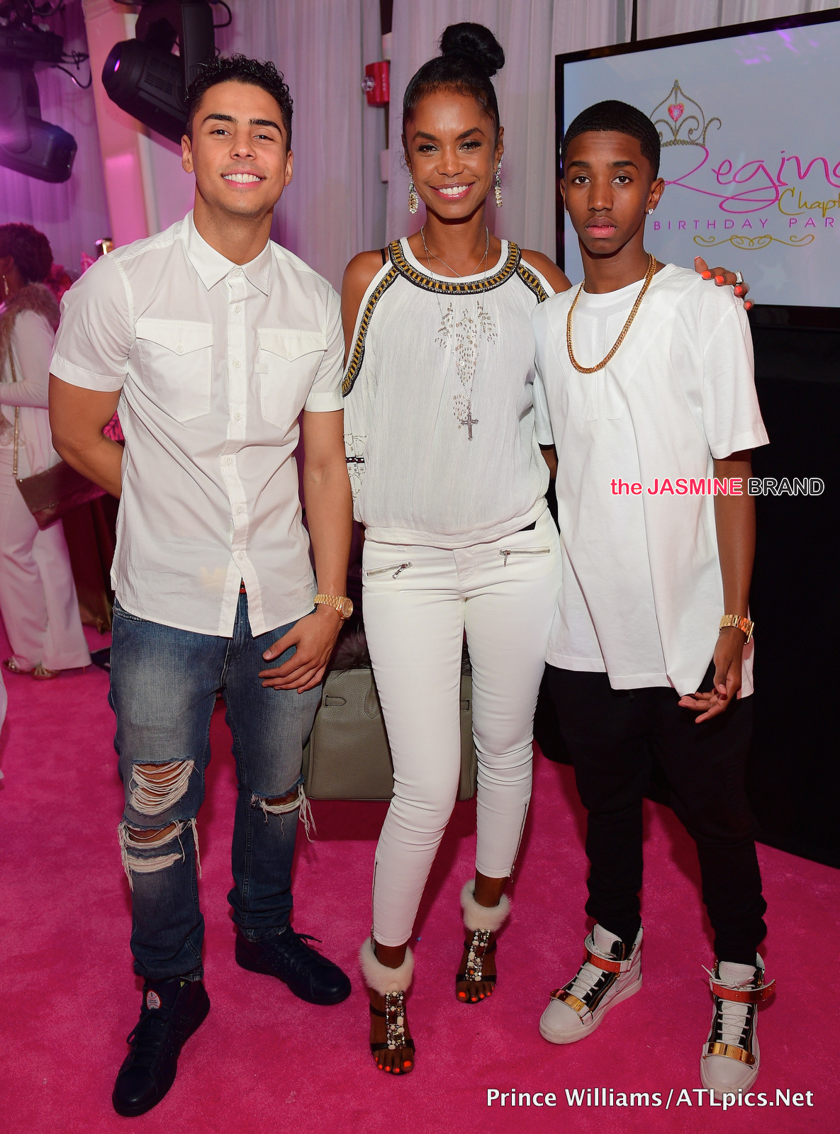 Quincy-Kim Porter-Christian Combs-Reginae Carter-Sweet 16 Party-the jasmine brand
