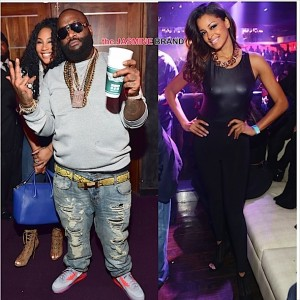 Rick Ross-Girlfriend Ming Lee-Claudia Jordan-ATL-Prive Night Club-the jasmine brand