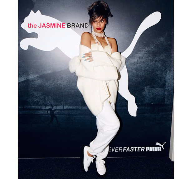 Rihanna Documents New PUMA Ambassador Deal on Instagram [Photos]
