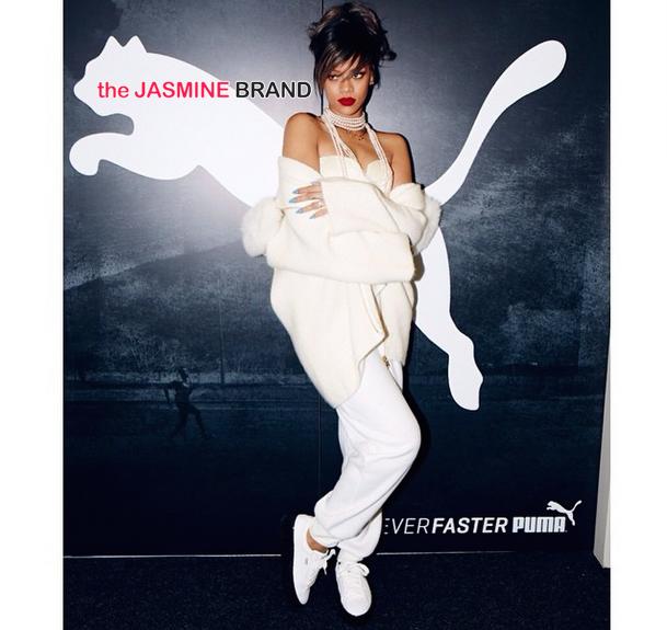 Rihanna Documents New PUMA Ambassador Deal on Instagram [Photos]