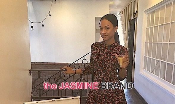 Karrueche Tran Hosts Holiday Pamper Party [Photos]