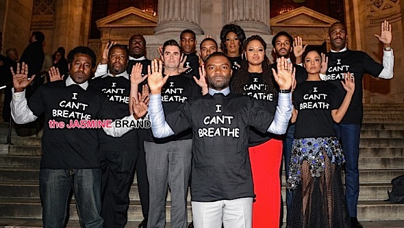 Selma Cast Rocks 'I Can't Breathe' Shirts, Kevin Hart & Fiancee Sport Wedding Onesies, Khloe Kardashian's BFF Gets Bucket Naked + Tracee Ellis Ross' Alter Ego Emerges