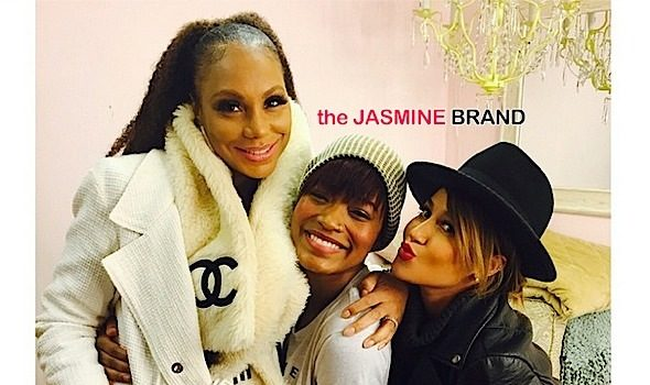 Tamar Braxton & Adrienne Bailon Pop-Up For NeNe Leakes & KeKe Palmer Broadway Show [Photos]