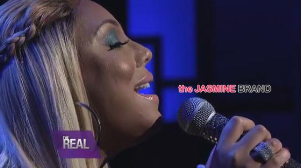 Tamar Braxton-Performs Silent Night-the jasmine brand