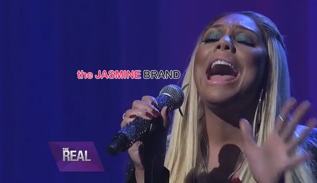 Tamar Braxton Brings Holiday Cheer With 'Silent Night' Performance