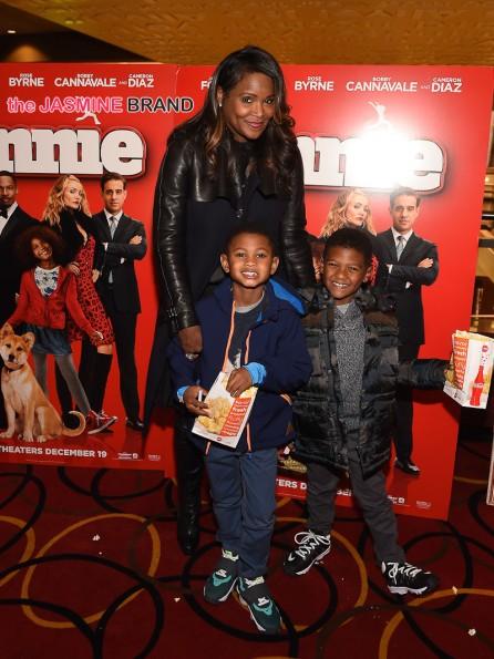 Tameka Raymond and Kids 2