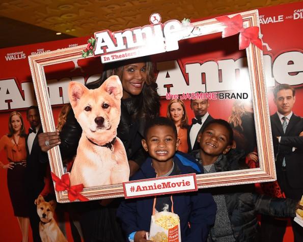 Tameka Raymond and Kids