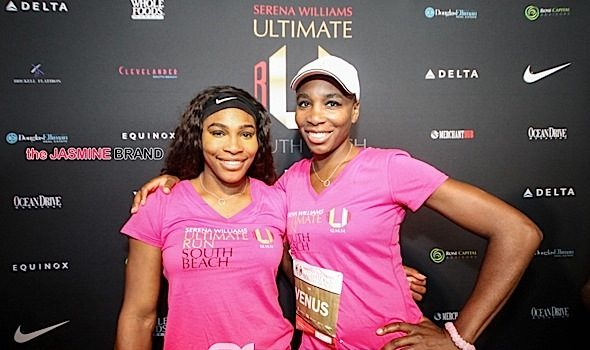 Serena & Venus Williams Host 'Ultimate Run South Beach' [Photos]