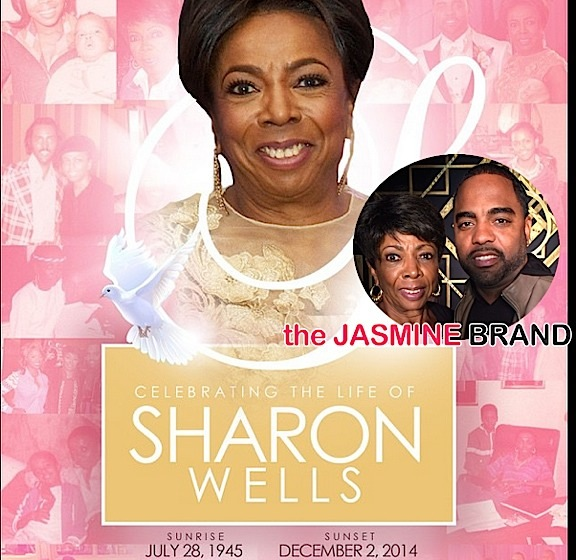 Todd Tuckers Mother-Sharon Wells-Funeral-Real Housewives of Atlanta-the jasmine brand