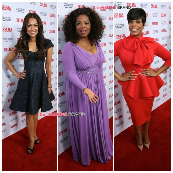 Tracey Edmonds-Oprah-Niecy Nash-SELMA screening and gala-the jasmine brand