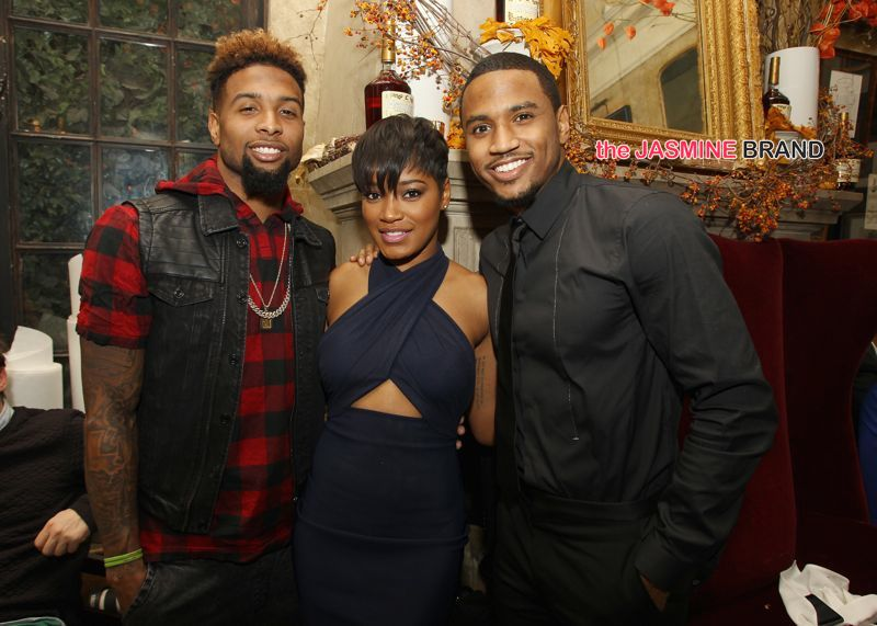 Trey Songz Hosts 30th Birthday Dinner With Gayle King ...