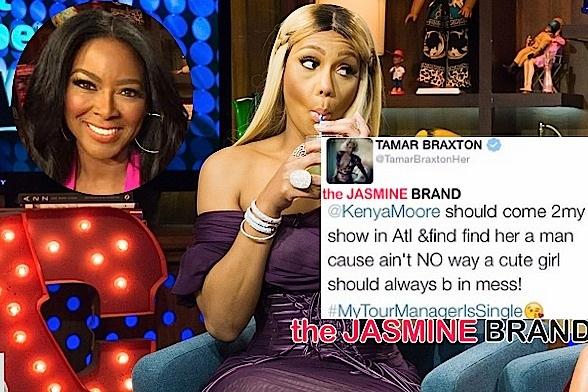 Twitter Ego: Reality Stars Tamar Braxton & Kenya Moore Tweet Insults