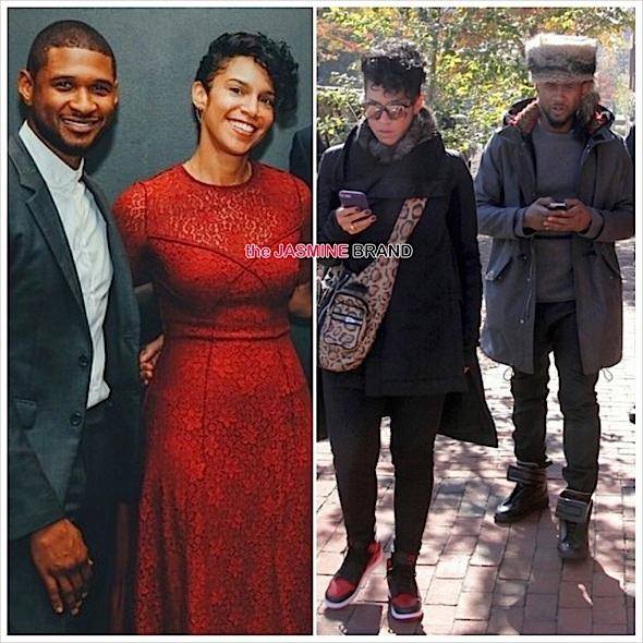 Ear Hustlin': Usher Allegedly Engaged to Girlfriend Grace Miguel