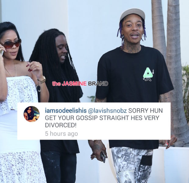 Deelishis Defends Dating Wiz Khalifa: He's VERY divorced! + Makes Public Appearance