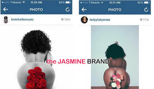 Woman Claims K.Michelle Copied Nude Photo Shoot For Album Artwork [Photos]