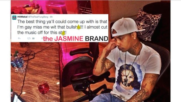 Yung Berg Denies Gay Rumors: Miss Me With That Sh*t!