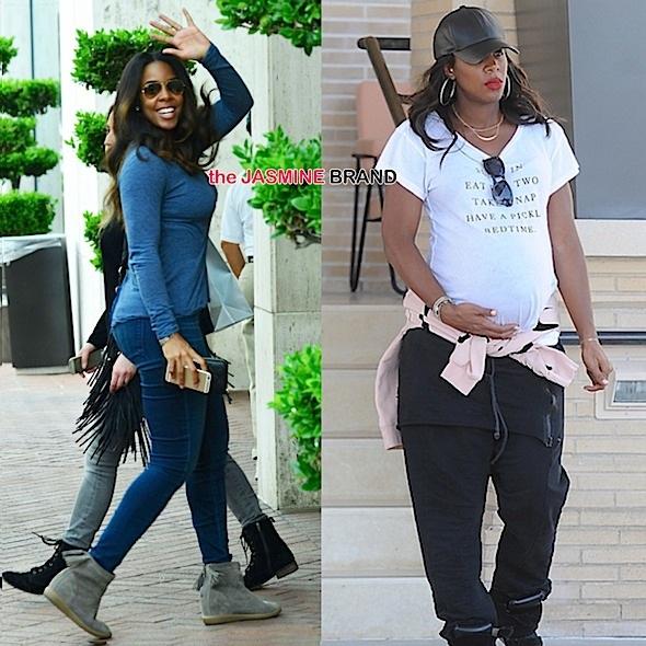 Ovary Hustlin': Kelly Rowland Is Back To Her Pre-Pregnancy Shape!