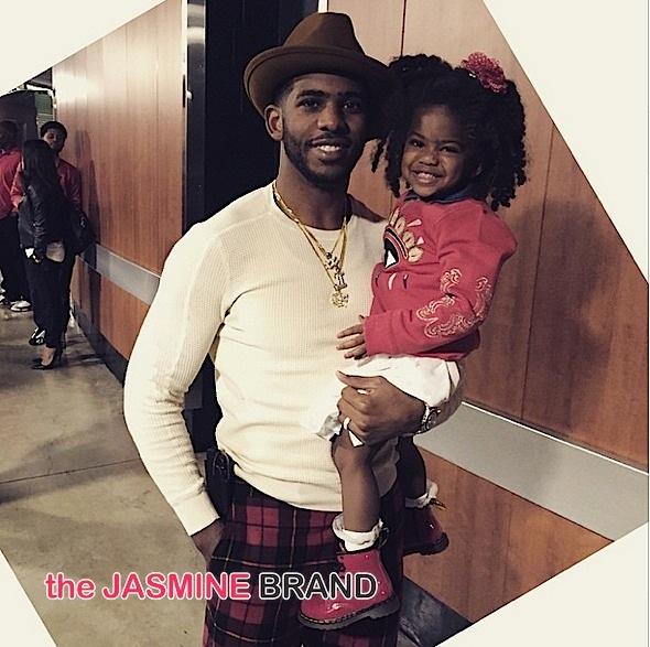 celebrity parents-nba-chris paul-daughter-the jasmine brand