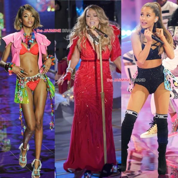 celebrity spotting-joan smalls-mariah carey-ariana grande-the jasmine brand