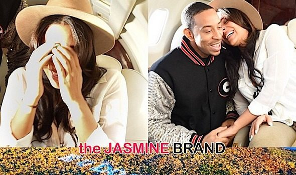 Mile-High-Engagement: Ludacris Pops the Question to Girlfriend Eudoxiee!