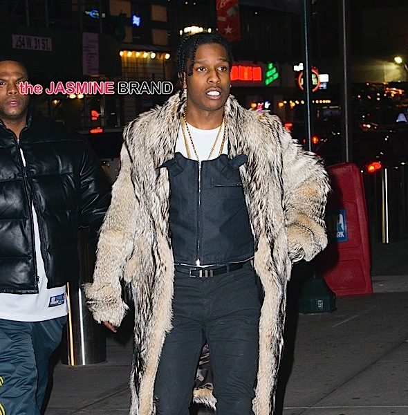 A$AP Rocky Performs For 1st Time Since Being Released, Tells Crowd 'I Need Y'all To Keep Praying For Me'