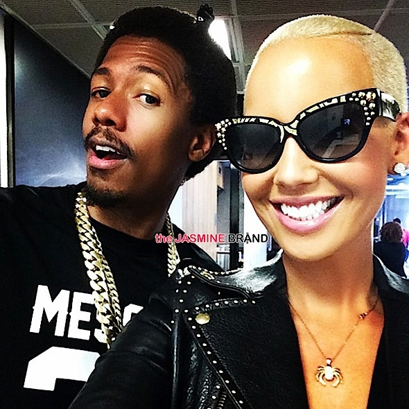 Amber Rose Insists Nick Cannon Is Not Her Boyfriend, After Posting His & Hers Ferraris: We are friends!