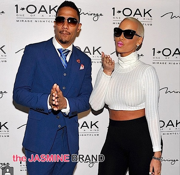 Amber Rose and Nick Cannon-1Oak-the jasmine brand